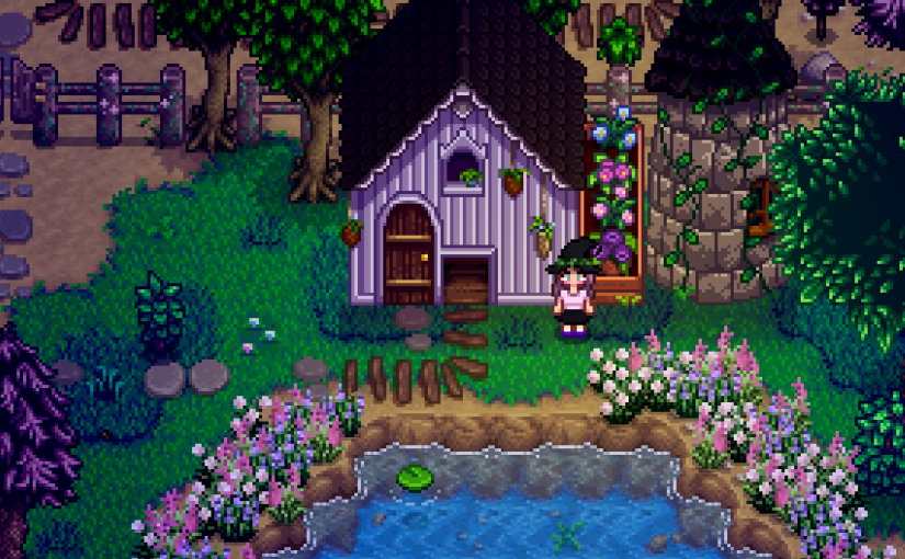How to be a Witch in Stardew Valley withMods